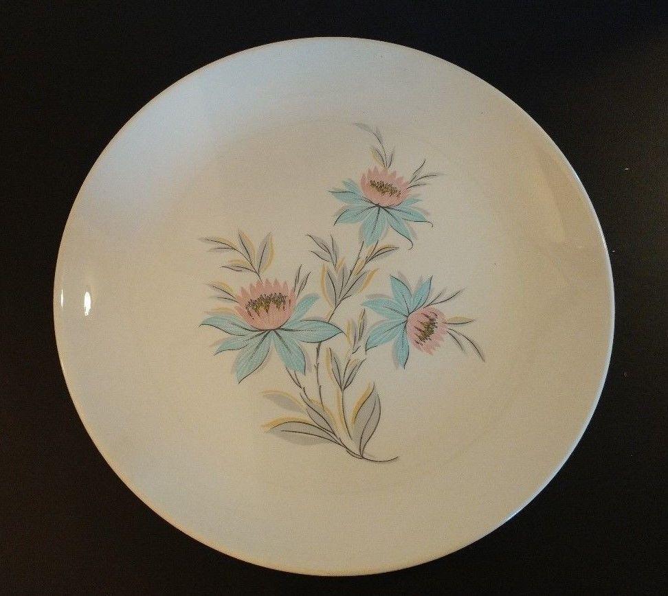 Steubenville Pottery Co Quot Fairlane Quot Pattern Dinner Plate