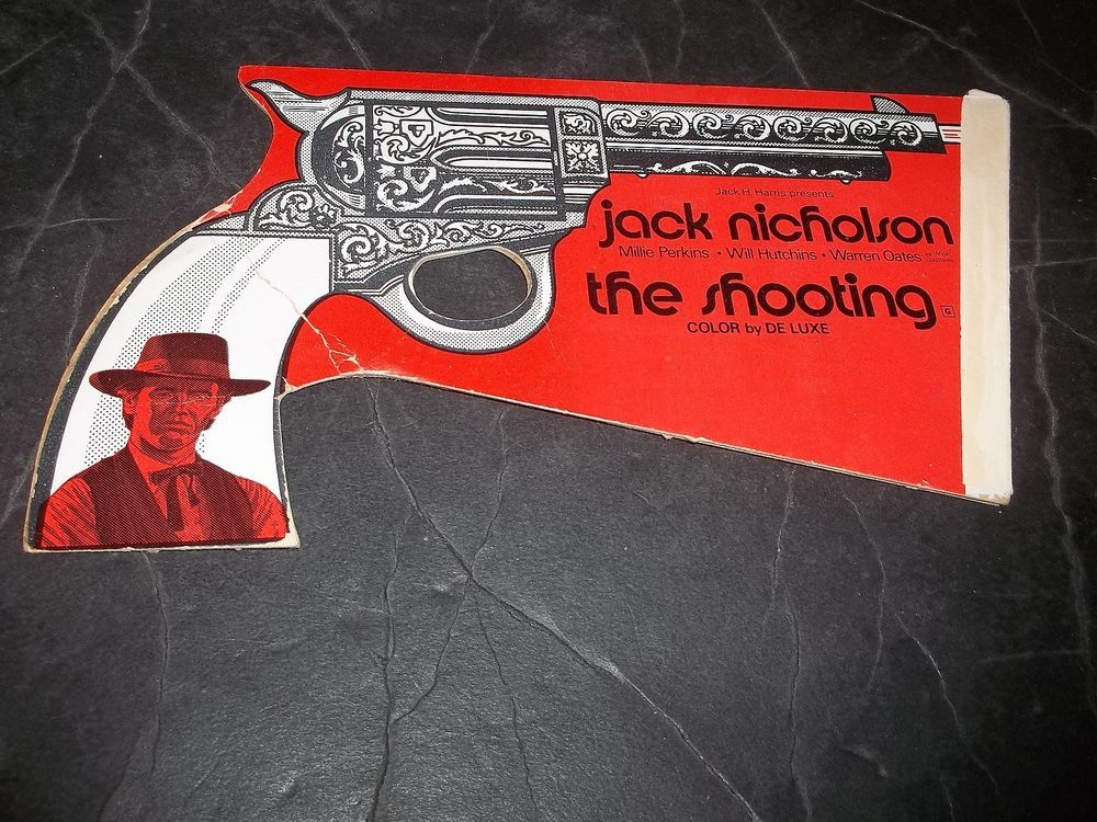 Vintage Jack Nicholson The Shooting Promotional Gun Will Hutchins Mille Perkins