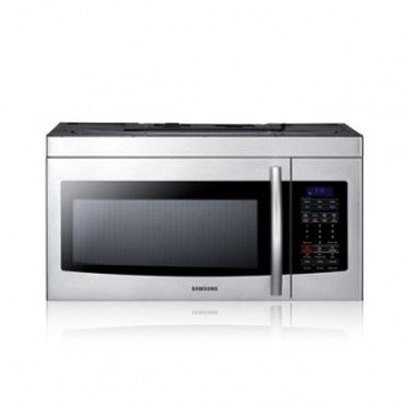 SMH1713W, Over The Range Microwave, 1.7 cu. ft. Over-the-Range Microwave 1000 Watts / White Kitchen Appliances, Laundry and Electronics in Kansas City, Lenexa, Topeka, Omaha, Des Moines