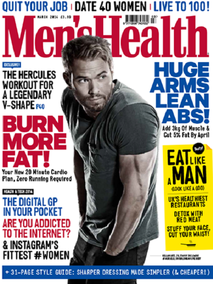 Men's Health Kellan Lutz