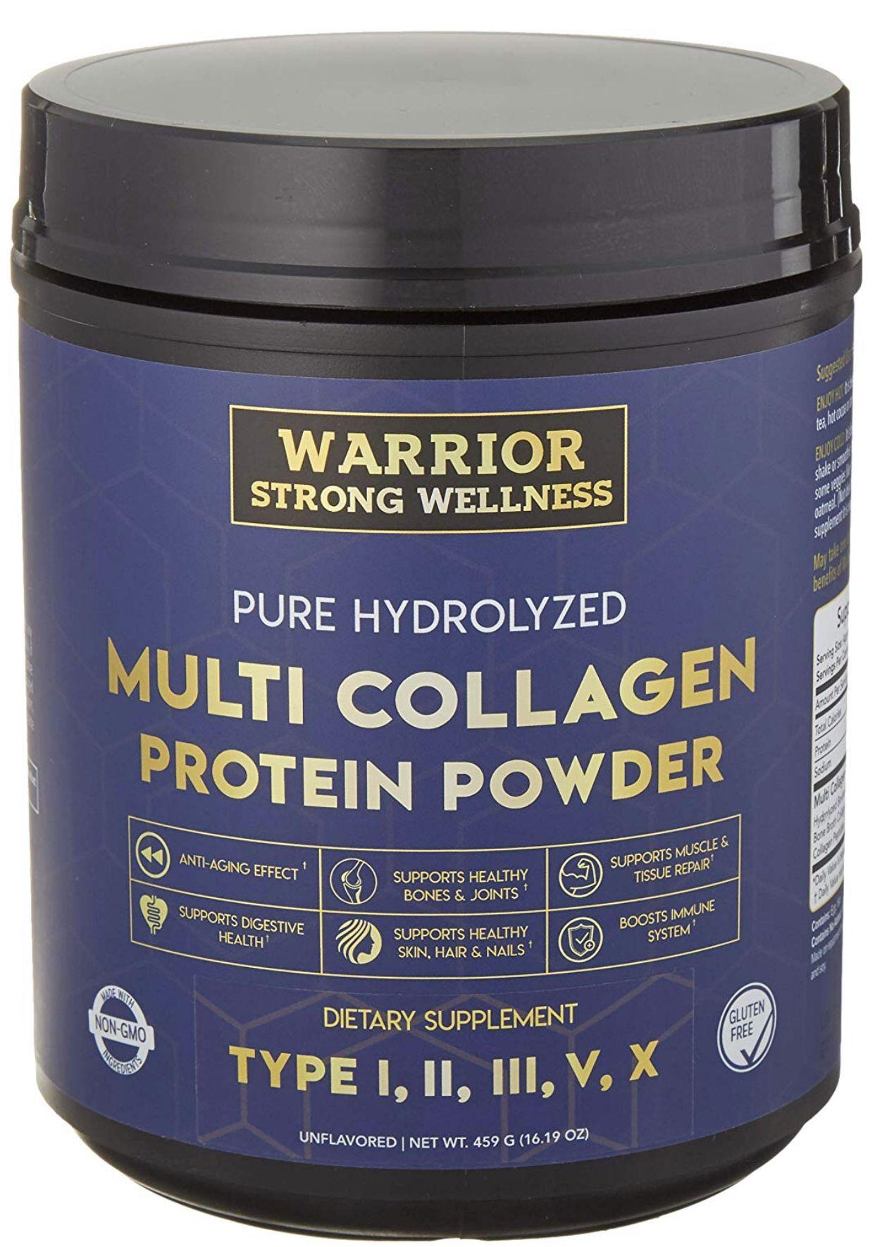 Pure Hydrolyzed MultiCollagen Protein Powder Collagen