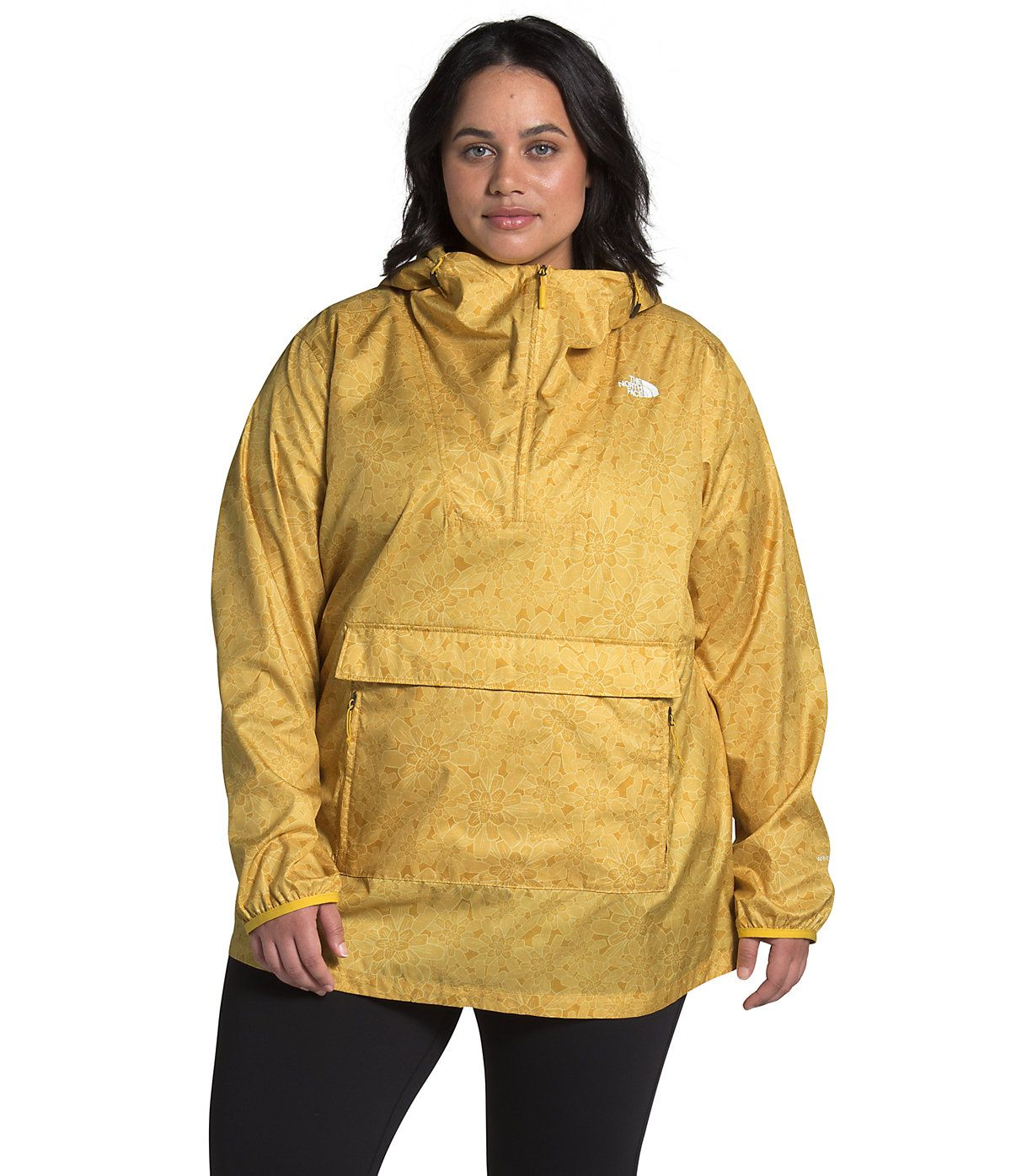 Women S Plus Printed Fanorak The North Face North Face Women The North Face Rainy Day Outfit [ 1396 x 1200 Pixel ]