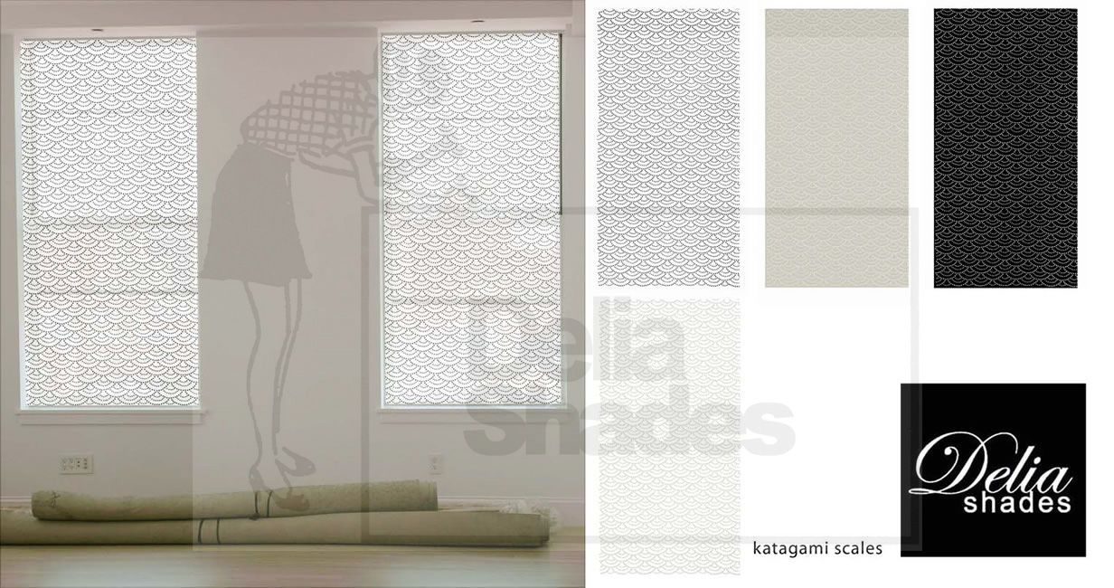 Delia shades katagami scales colorsg curtains