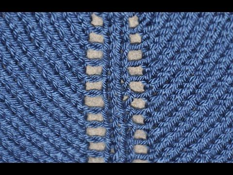 How To Increase In Knitting Using Yarn Overs Tutorial 8 Part 11 Of