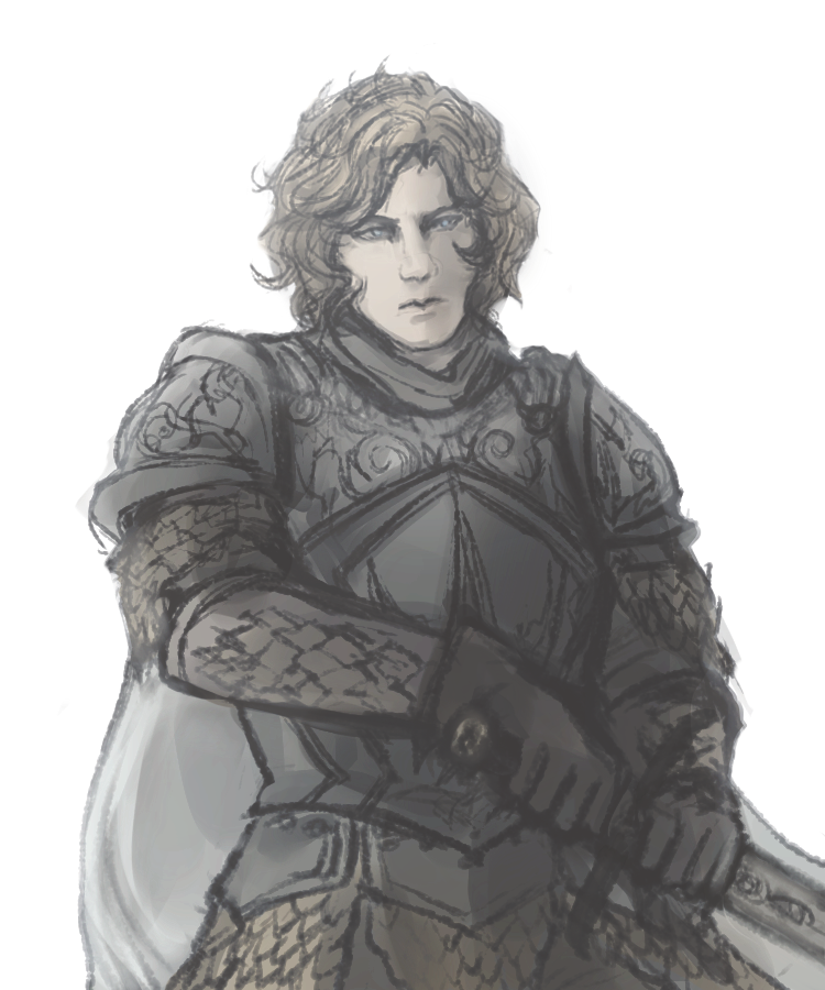 Ser Loras (in Kingsguard armour) by stannisi on tumblr | a ...