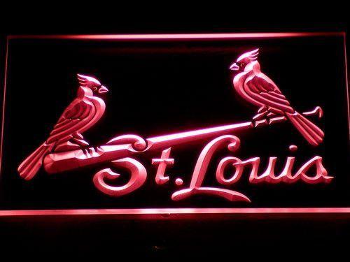 St Louis Cardinals Birds Led Neon Sign Neon Signs Led Neon Signs Led Signs