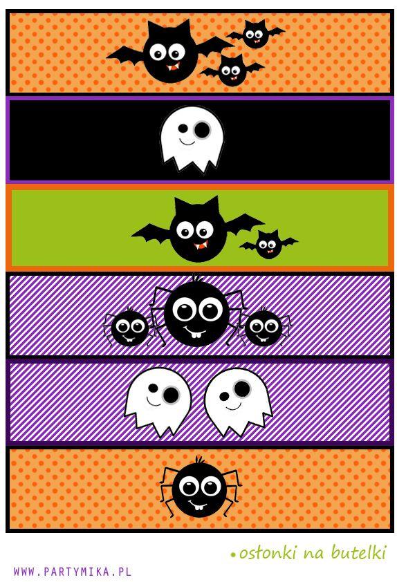 Szablony Halloween do druku Szablony, Halloween i Druk