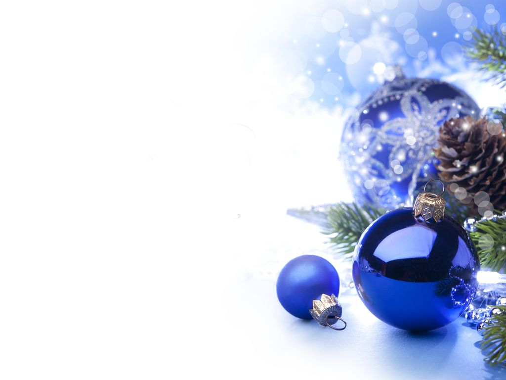 Blue Christmas Ornaments With White Background Google Search Fia