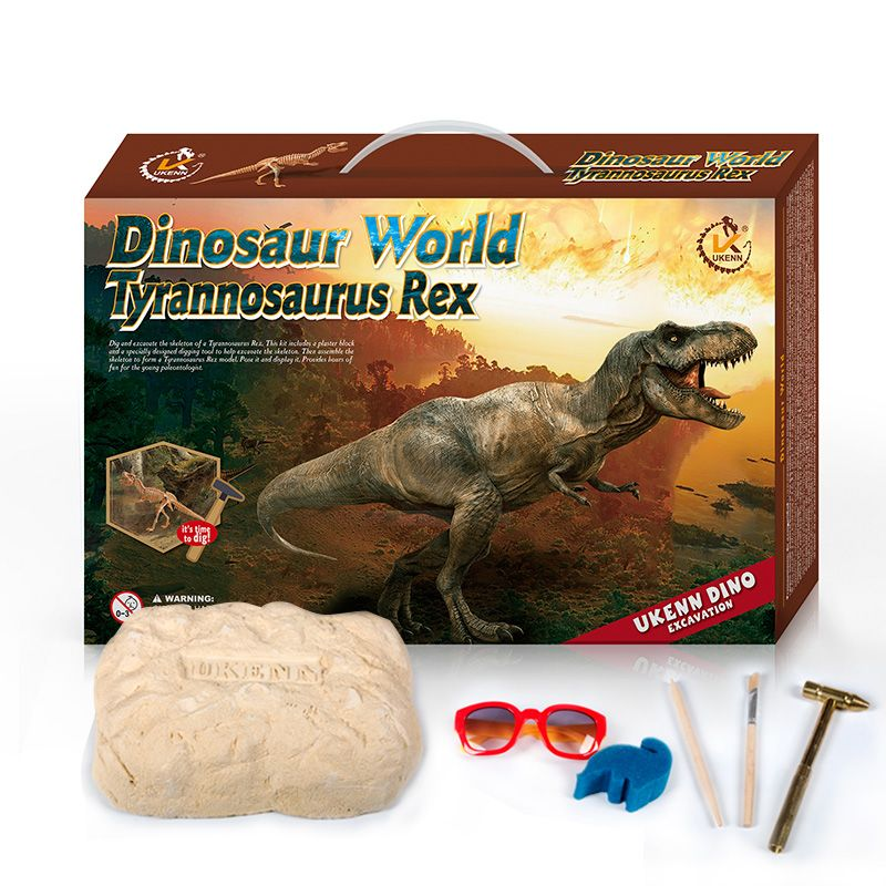 best seller on line dinosaur fossil excavation kit with