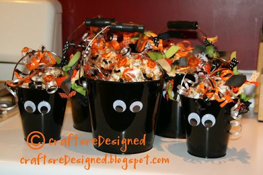 cute Halloween treats for school, work, neighbors Fall Halloween - cute halloween gift ideas