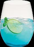 """Recette à base de vodka du cocktail Azur Mania. Informations sur la préparation de la boisson, l""""alcool, les ustensiles et les ingrédients nécessaires."""