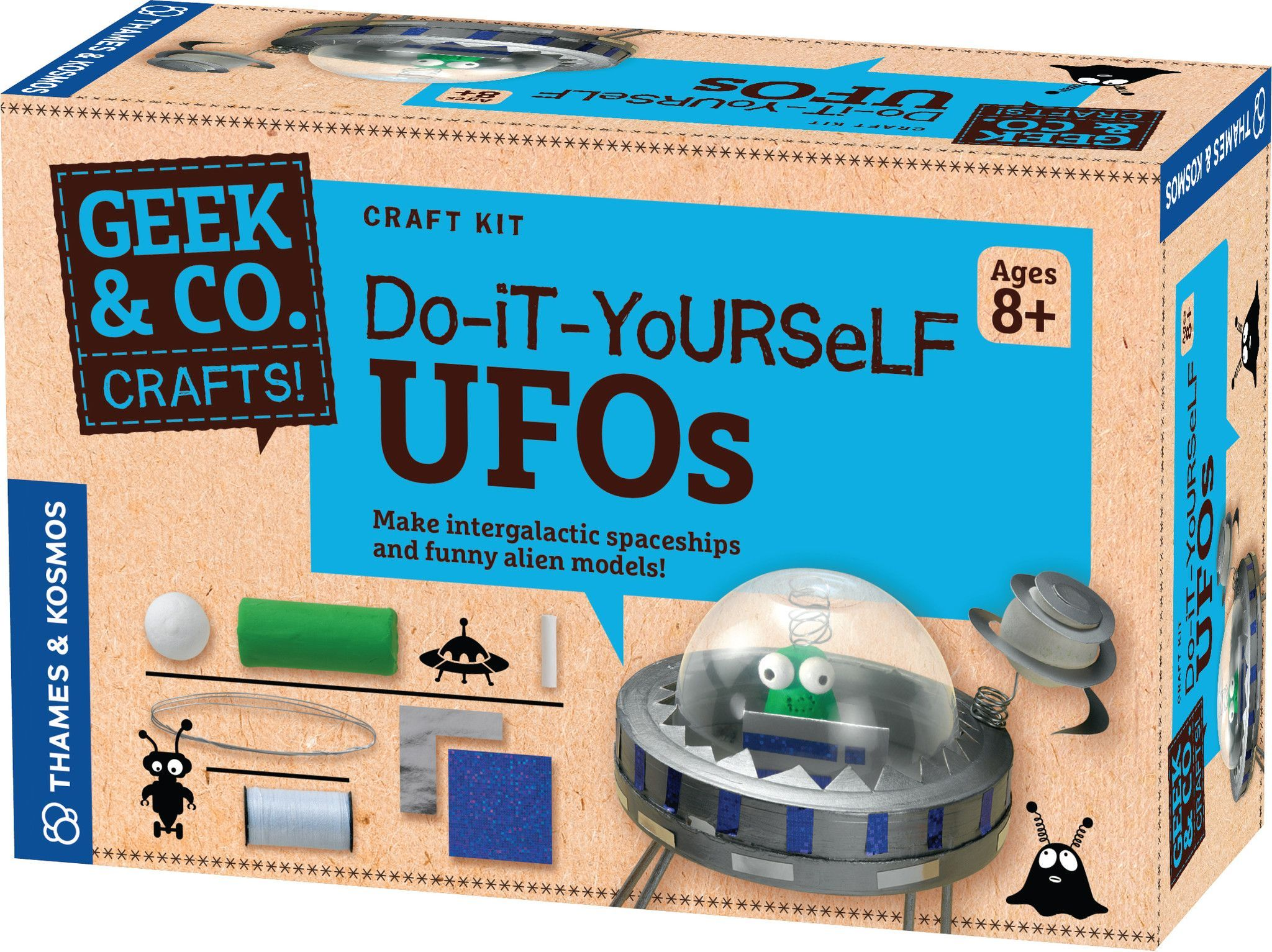 Do it yourself ufos craft kit science kits and products do it yourself ufos craft kit solutioingenieria Choice Image
