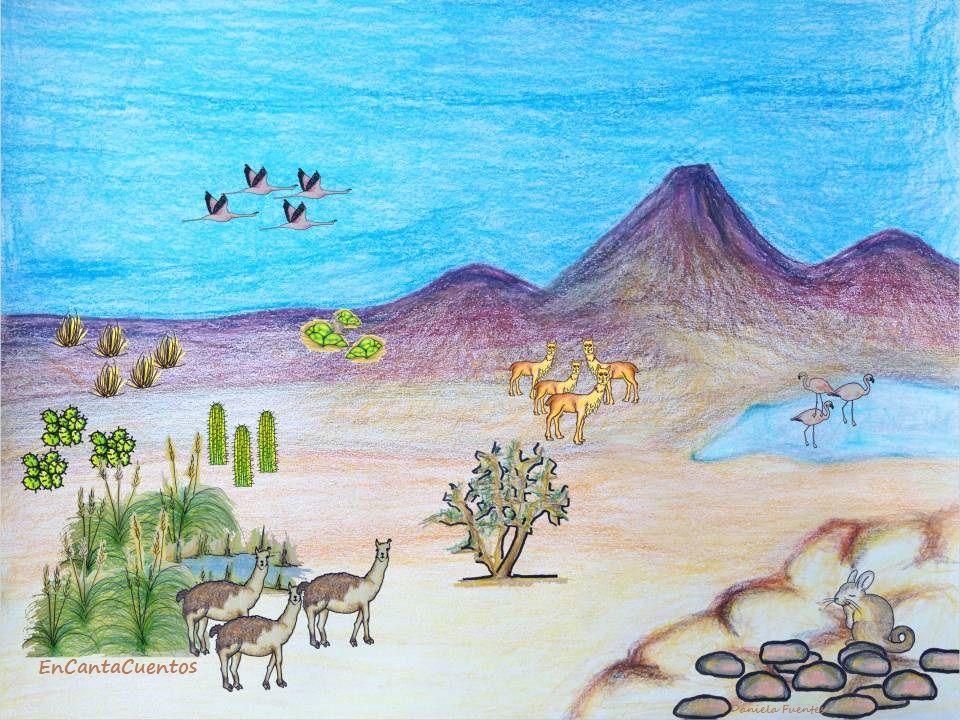 El altiplano es una zona rida bordeada por la Cordillera de los