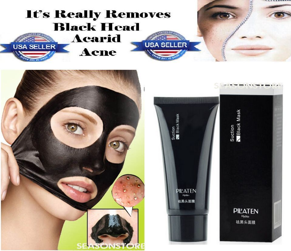 Pc PILATEN Face Mask black Mud g This Purifying PeelOff Mask is