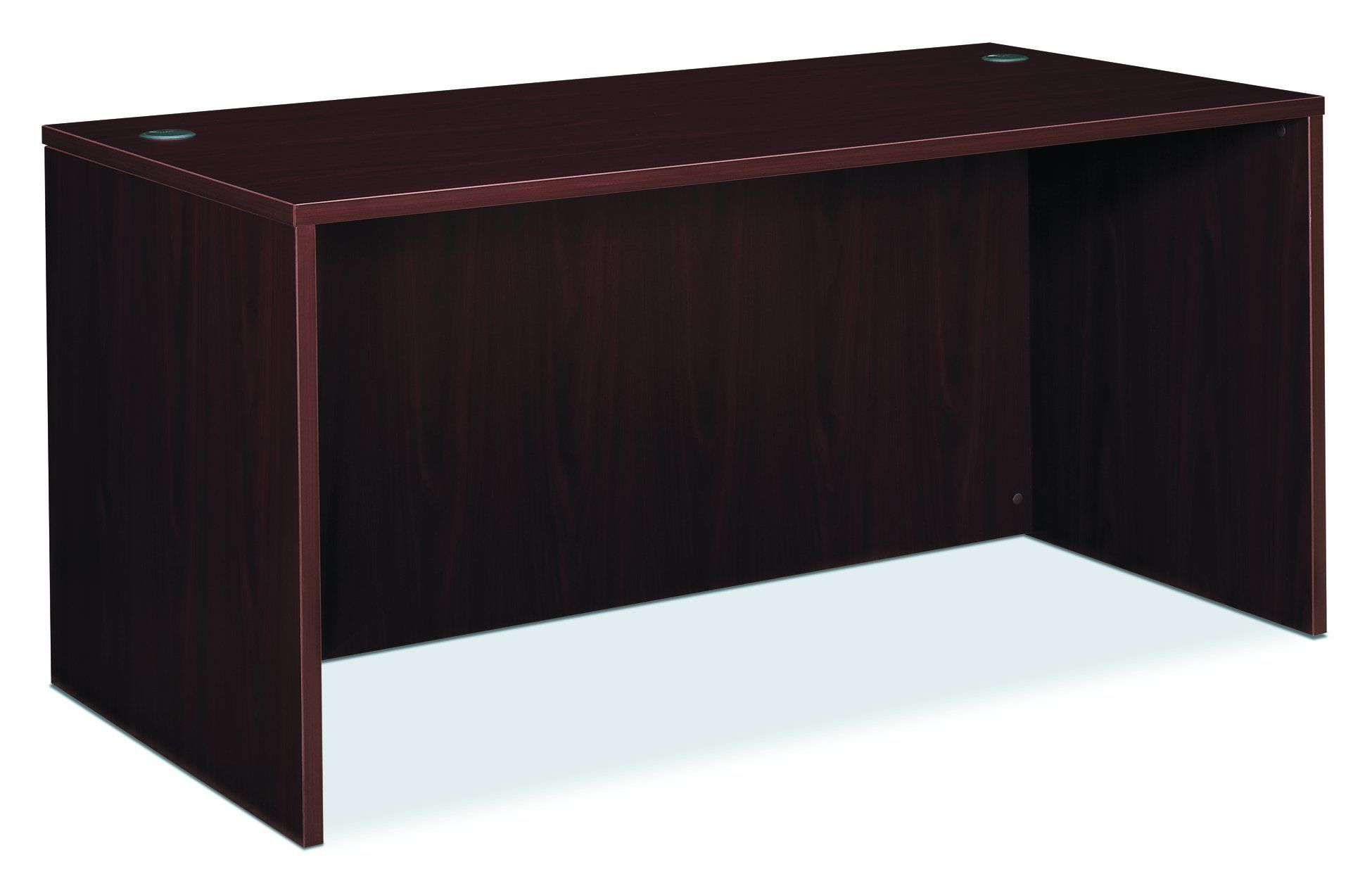 basyx by hon bl laminate series office desk shell rectangular desk
