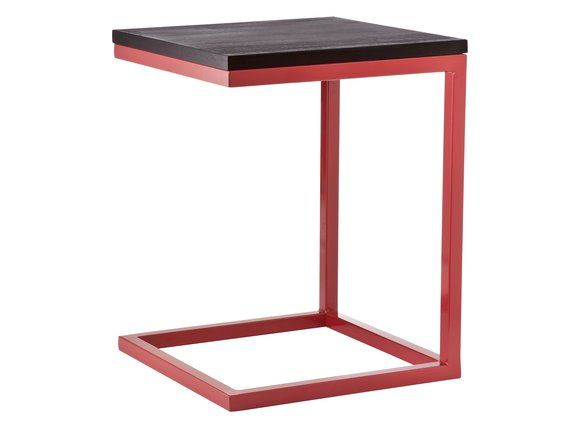 "Bedside table, Target Home ""C"" Accent Table in Red"