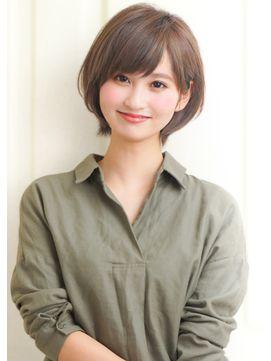 『rue京都』ふんわりナチュラルショートボブ☆ - 24時間いつでもWEB予約OK!ヘアスタイル10万点以上掲載!お気に入りの髪型、人気のヘアスタイルを探すならKirei Style[キレイスタイル]で。