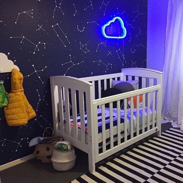 Nueva pared del usb luces de ne n para los cuartos del for Proveedores decoracion hogar