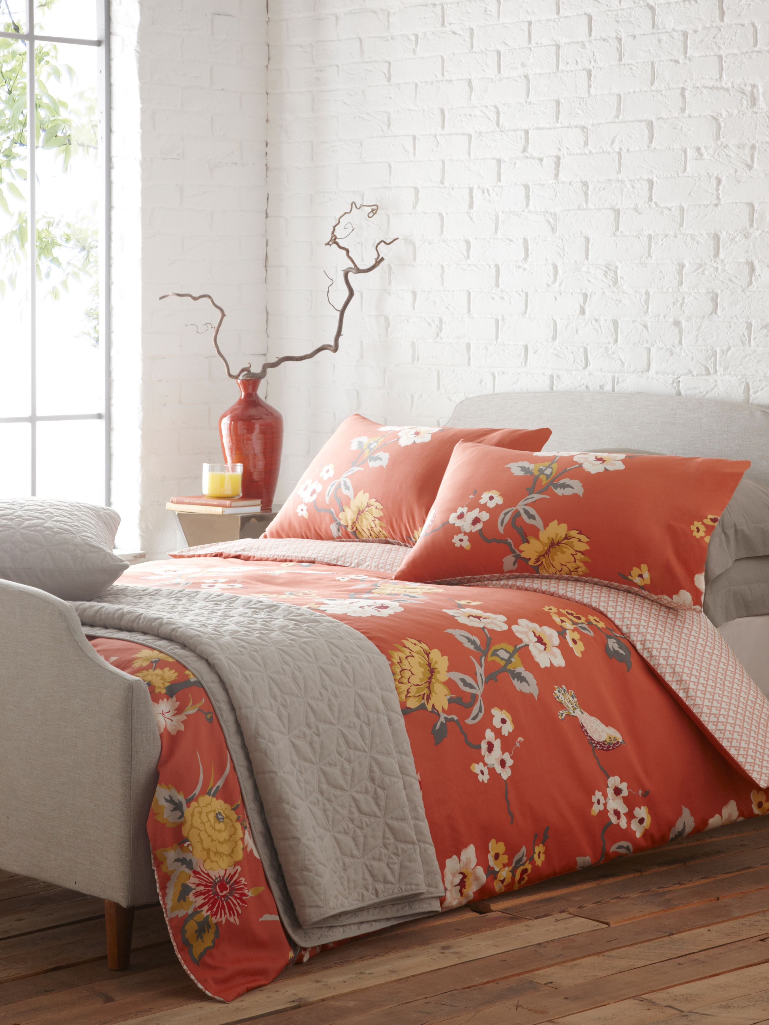 Beautiful House Of Fraser Bed Linen Sets Part - 14: Living By E Lemieux Red Birds King Duvet Cover House Of