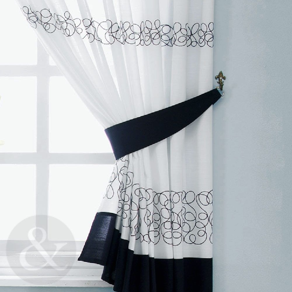 Red Black And White Kitchen Curtains  Httplatulufeed Gorgeous White Kitchen Curtains Design Ideas