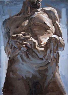 """Saatchi Online Artist Patrick Earl  Hammie; Painting, """"Bend"""" #art"""