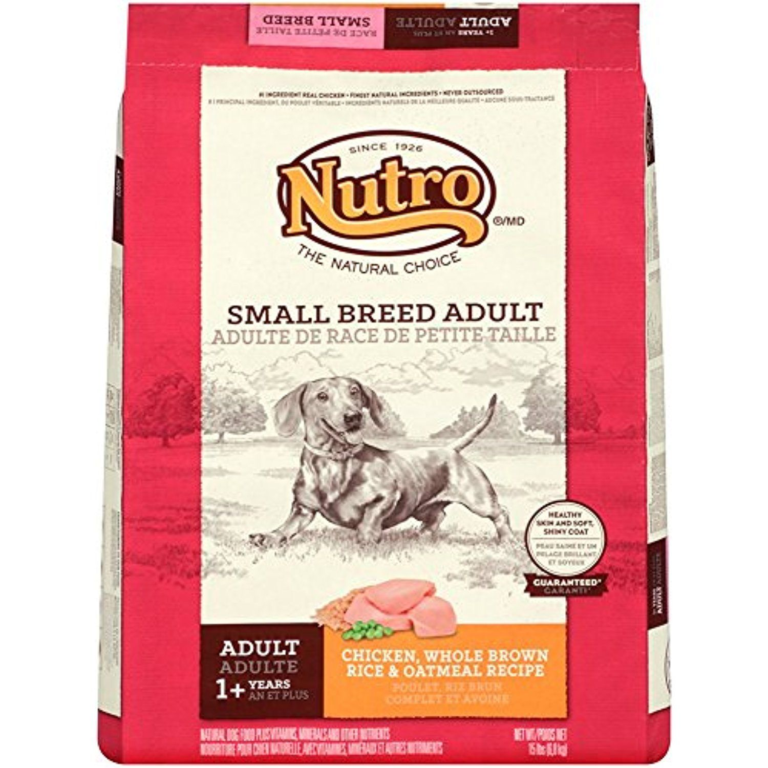 Nutro natural choice small breed adult chicken whole brown rice and nutro natural choice small breed adult chicken whole brown rice and oatmeal recipe dog food forumfinder Image collections