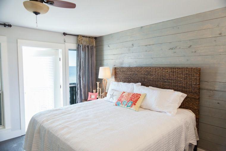 La chambre à coucher style marin: 38 exemples en images | Maison ...