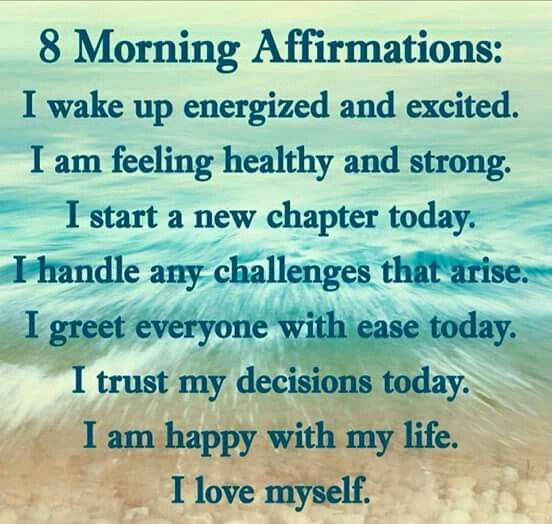 Affirmations, Daily