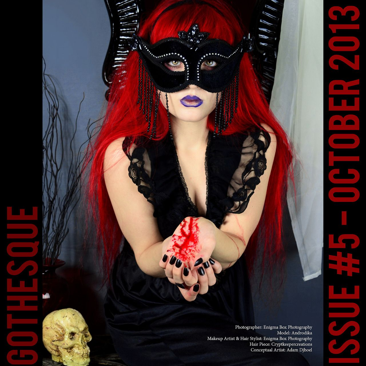 Pin by Gothesque Magazine on 2013 October Issue 5