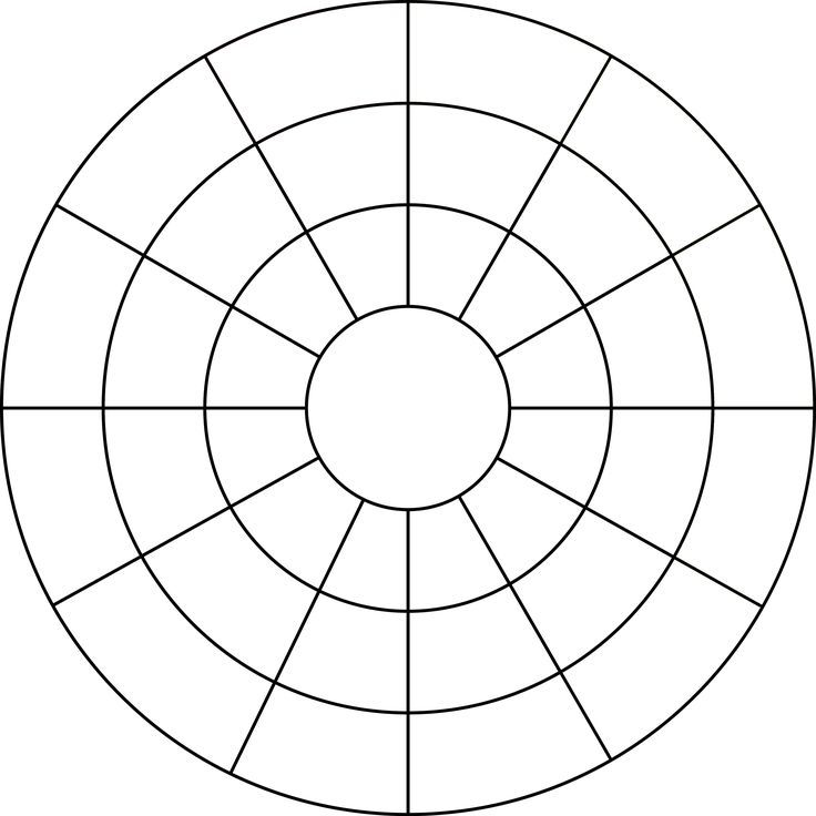 Color Wheel Template Printable | Color wheel worksheet, Color ...
