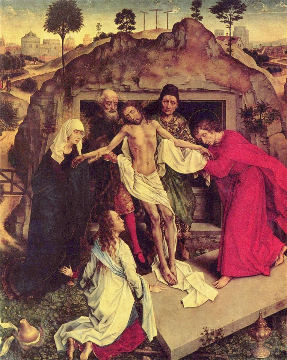 Entombment of Christ - Rogier van der Weyden - WikiPaintings.org