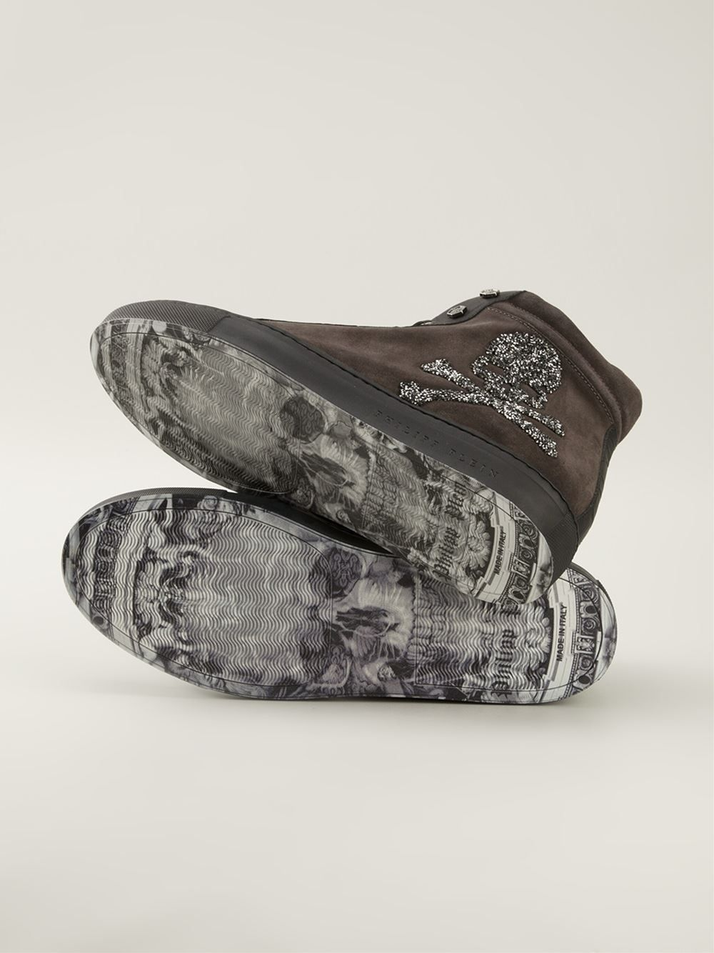 Brown sneakers lyst.com
