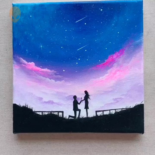 Acrylic Painting Ideas For Beginners Videos
