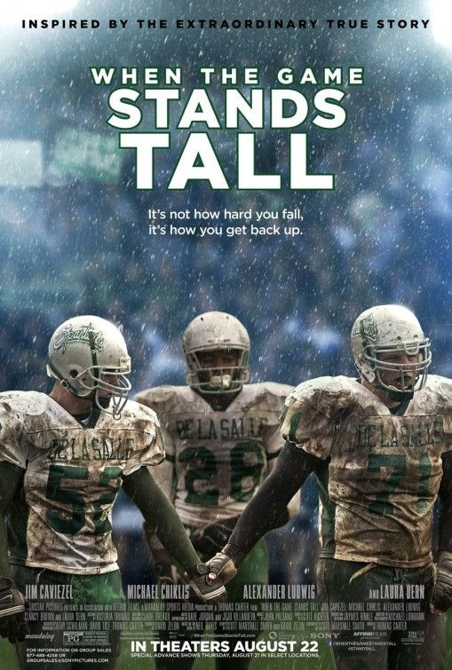 Kias 2 Cents When The Game Stands Tall 2014 Whenthegamestandstall Football