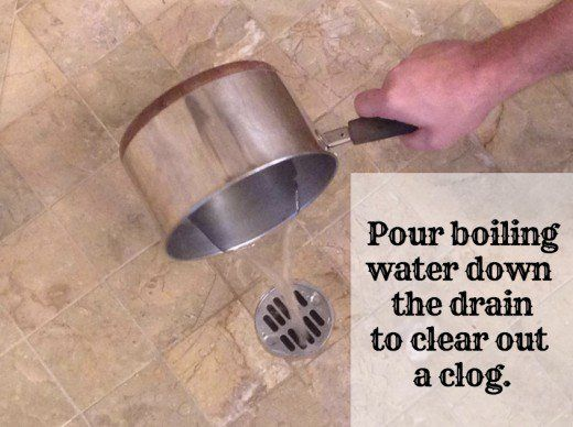 How to Clear a Clogged Shower Drain 8 Methods Clean