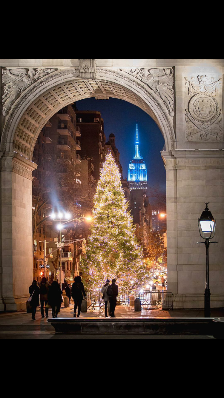 Pin By Victor Martinez On Favorite Places Spaces New York Christmas Nyc Vacation New York City