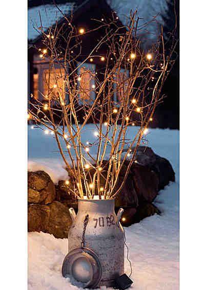 LED-Lichterkette, Konstsmide #weihnachtendekorationdraussengarten