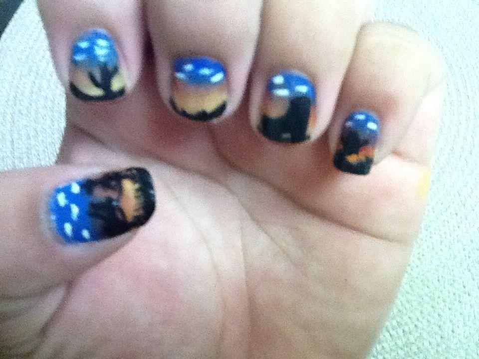 western nails   Western nails, Nails, Nail designs