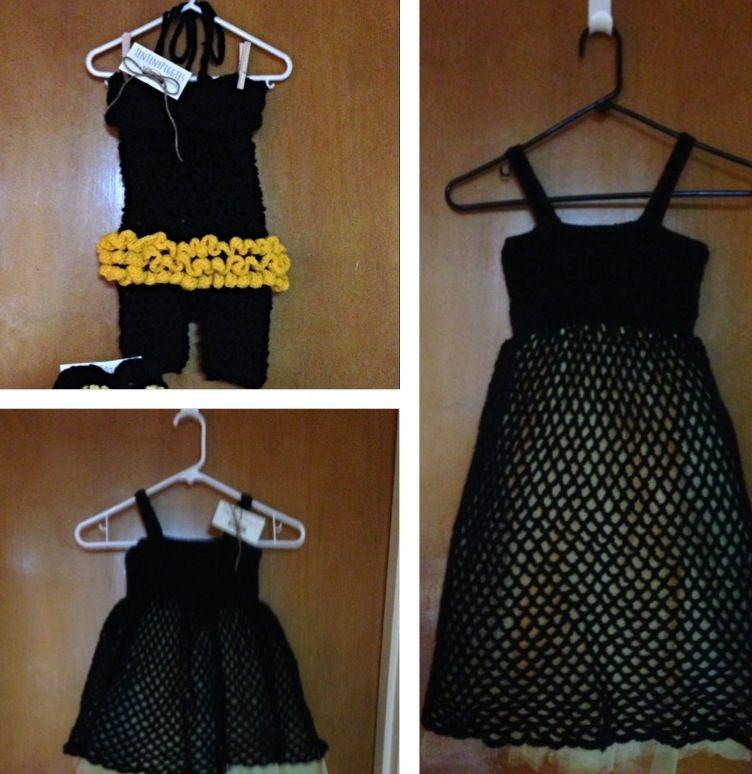 LSU saints themed dresses and romper