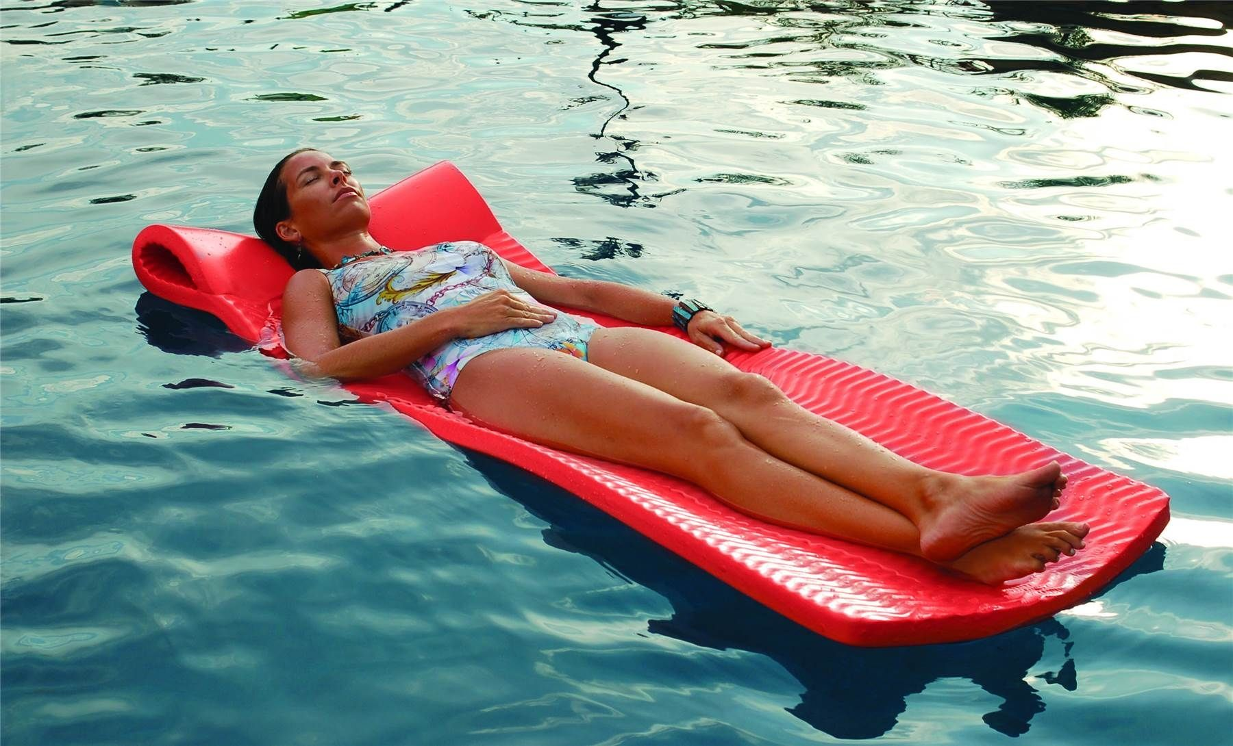 Texas Recreation Softie Swimming Pool Float Mat Raft Vinyl ...