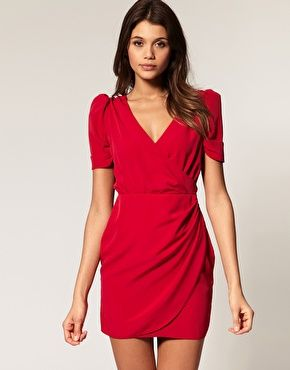 Flattering dress shape