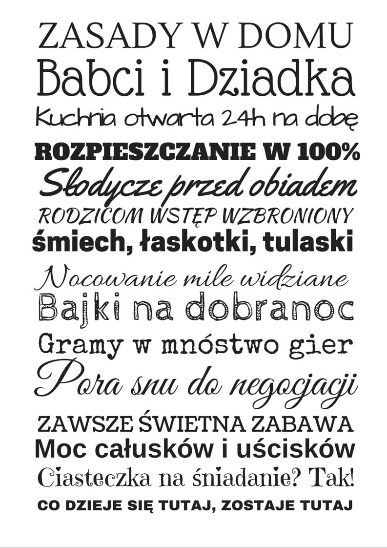 Darmowe Plakaty Na Dzien Babci I Dziadka Sa Do Pobrania W Dwoch Formatach Najlepiej Beda Wygladaly Wydrukowane W Formacie A4 I Opra Quotes Polish Quotes Words