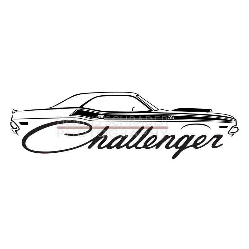 car svg eps png jpg dodge challenger svg illustration car etsy in 2020 dodge challenger stencil logo challenger pinterest