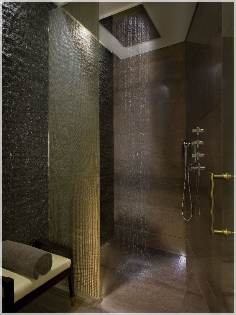 16 photos of the creative design ideas for rain showers. Black Bedroom Furniture Sets. Home Design Ideas