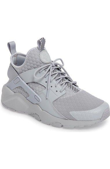 c009d3999b4008 FrenchEconomie™ Winter 2019 Men s Fashion  NIKE Huarache Run Ultra Se  Premium Sneaker (Men).  nike  shoes