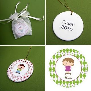 Ornaments Extremely Adorable Customizable Kidlet Ornaments