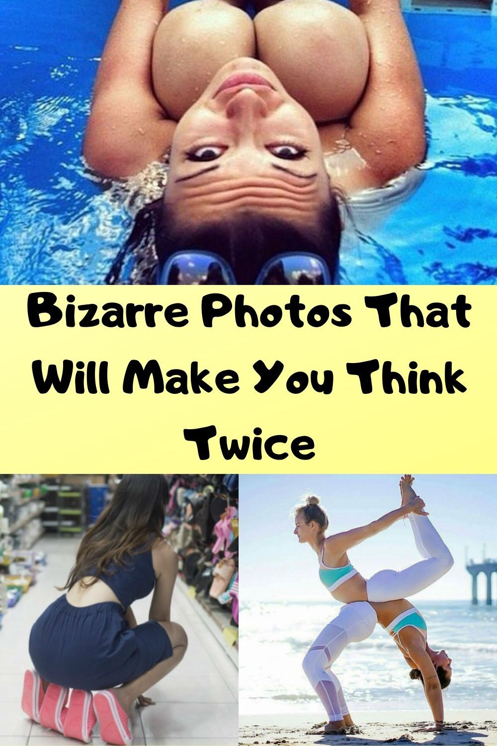 Bizarre Photos That Will Make You Think Twice Bizarre Photos Wtf Funny Funny Memes