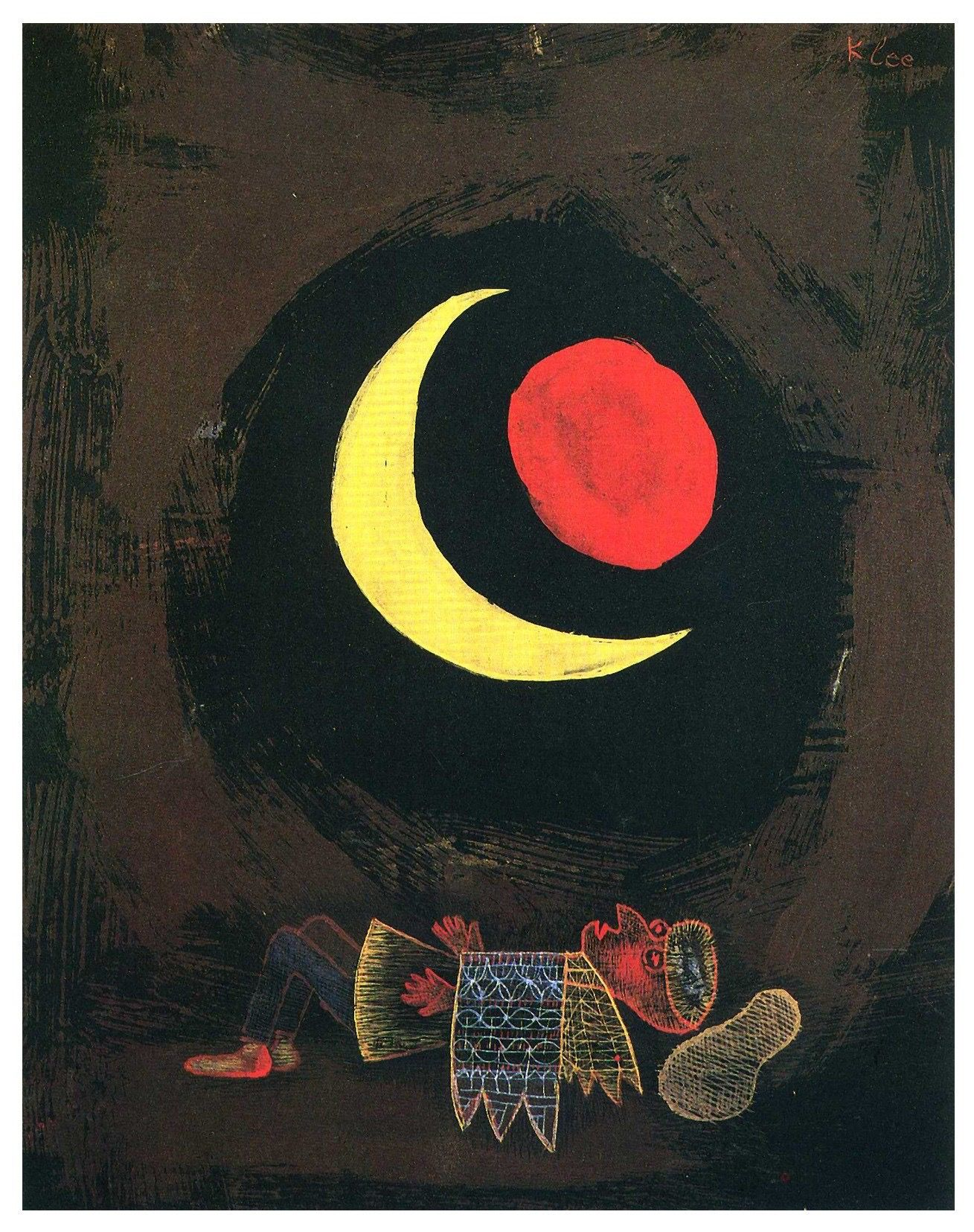 Paul Klee - strong dream Modern Konst b3ac06063df2f