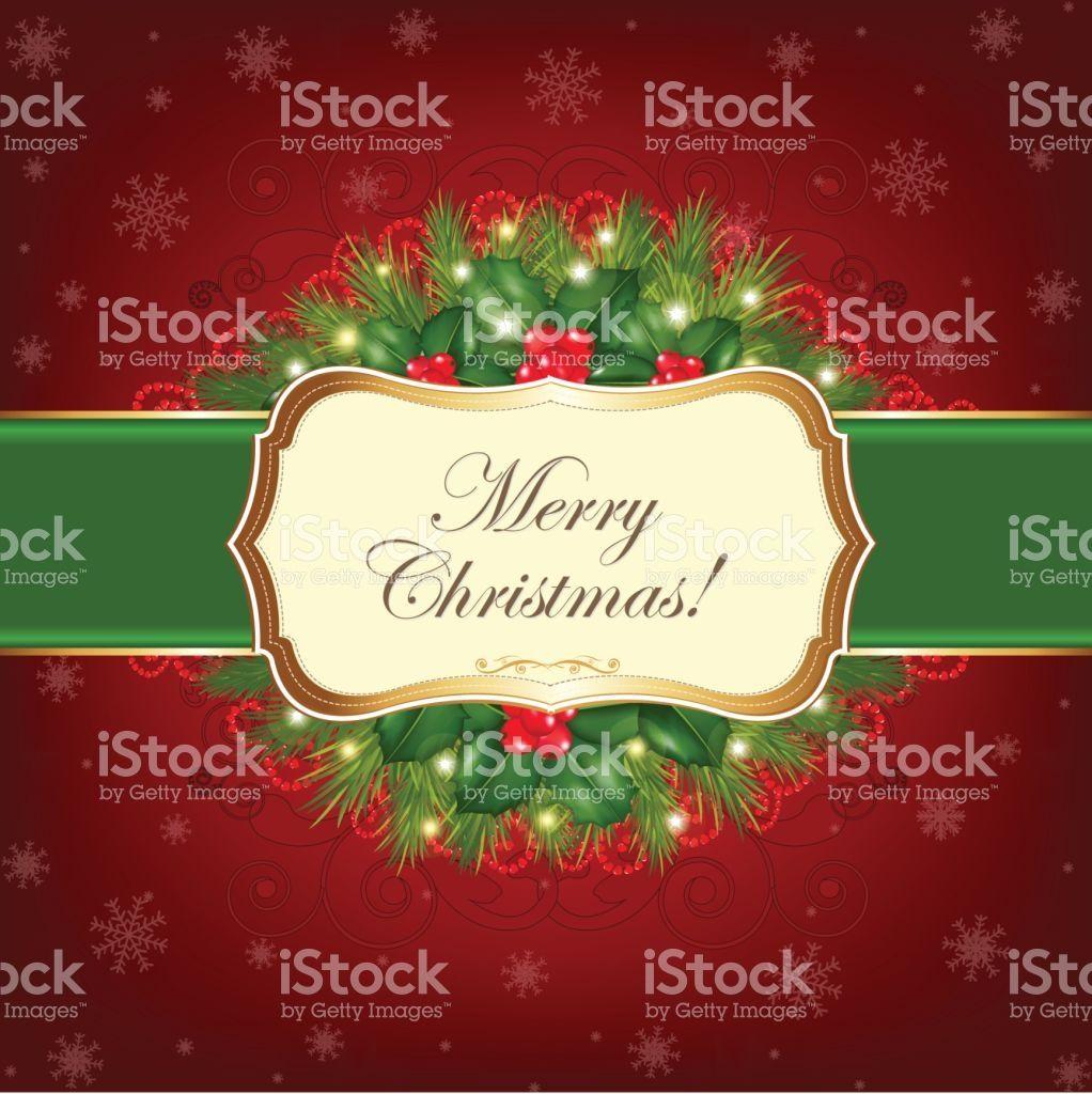 Christmas Greeting Card Royalty Free Stock Vector Art Christmas