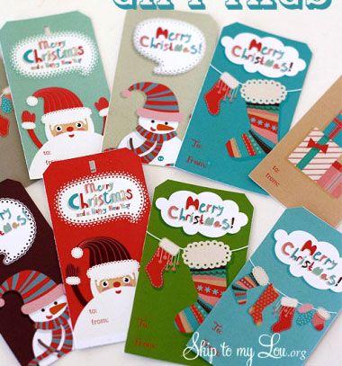 Free printable christmas gift tags    Nyomtatható karácsonyi ajándékkísérő  kártyák    Mindy - craft tutorial collection     crafts  DIY  craftTutorial  ... b196573542